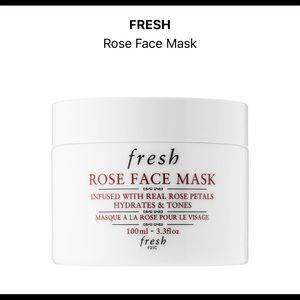 fresh Makeup - Rose face mask by fresh